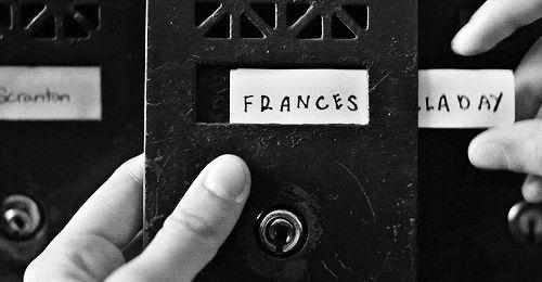 Frances!
