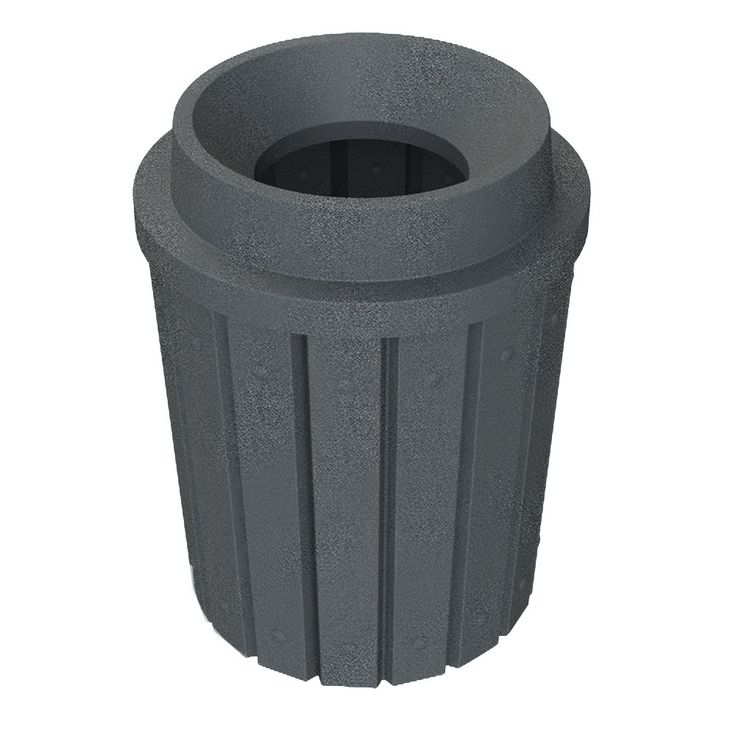 42 Gallon Heavy Duty Funnel Top Trash Can  outdoor indoor trash cans recycle bins ashtrays for commercial office or home 28 best Decorative Cans images on Pinterest Recycling