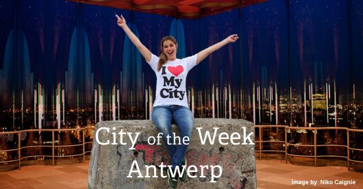 This week only: free #Antwerp iPhone app! DOWNLOAD if you're planning on visiting Antwerp or already live you fairy-tale life in this beautiful gem at the Schelde.