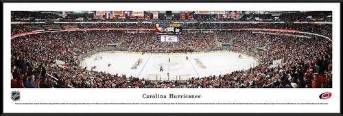 Carolina Hurricanes Framed Panoramic Photo