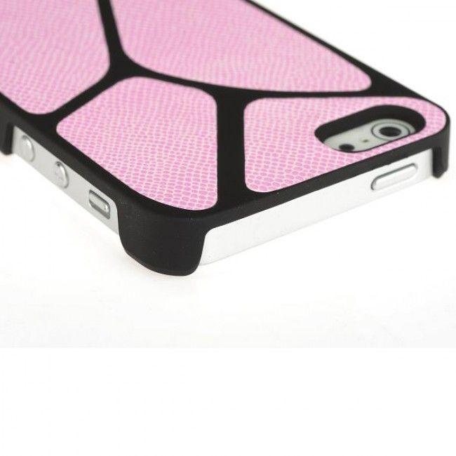 Jive Lizard (Vaaleanpunainen) iPhone 5S Suojakuori - http://lux-case.fi/jive-lizard-vaaleanpunainen-iphone-5-suojakuori.html