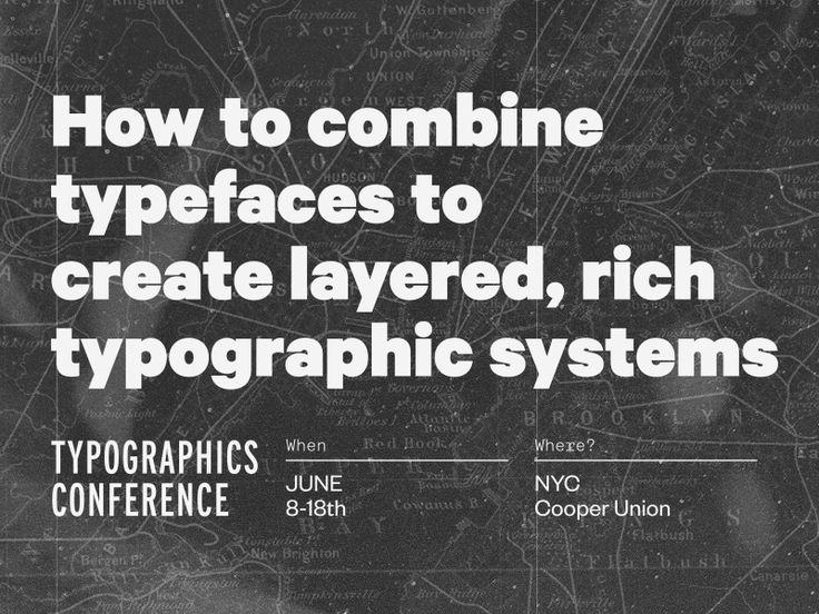 Typographics talk!