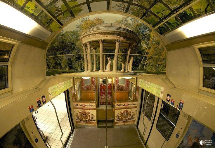 Необычный поезд Париж-Версаль - Путешествуем вместе