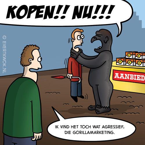 Evert Kwok - cartoonist, striptekenaar en grappenmaker.