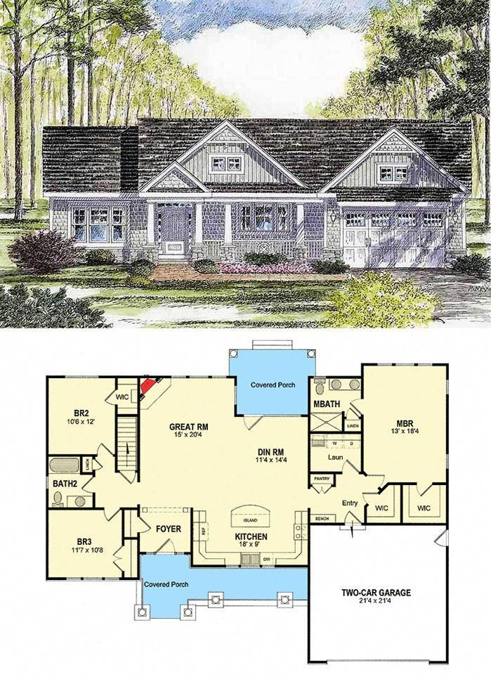 Dream Houses Pictures Dreamhouses Craftsman House Plans House Plans New House Plans