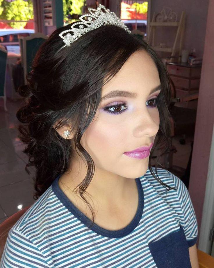 Quinceañera makeup, makeup of quinceanera at night, makeup for xv years natural, makeup and hairstyles for 15 years, makeup for modern quinceañeras, makeup for fifteen years, makeup for quinceanera, makeup