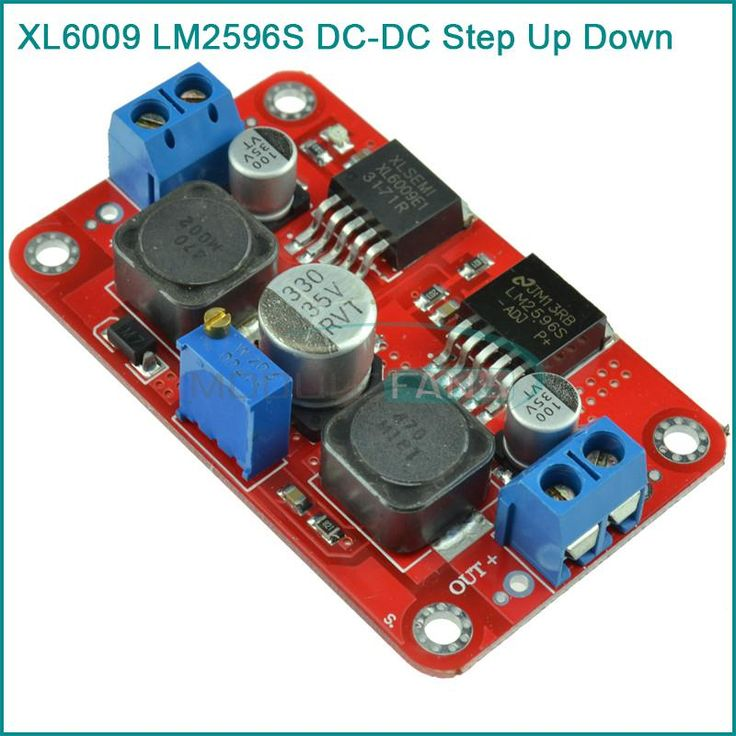 XL6009 LM2596S DC DC Step Up Down Boost Buck Voltage Power Converter Module-in Other Electronic Components from Electronic Components & Supplies on Aliexpress.com | Alibaba Group