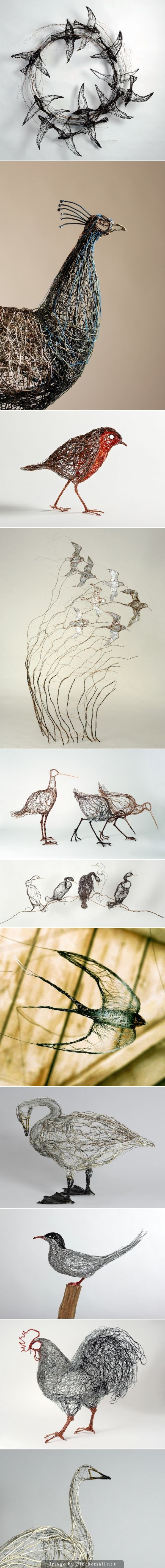 Celia Smith Bird Sculptures