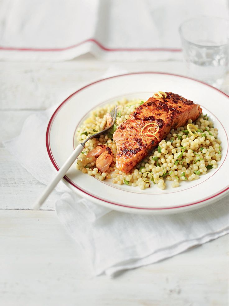 Super salmon, super quick. This salmon recipe is ideal for an easy midweek supper.