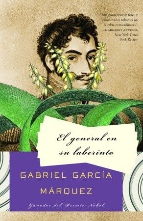 The General in His Labyrinth- Gabriel Garcia Marquez. Alaska I can't believe the Weekday Warriors flooded your room which ruined your book!