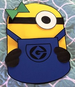 Minion themed bulletin board pack can also be used in many other ways.You can either print these off on colored paper and create your own unique minions or you can print off the ones created in this pack in colored ink.
