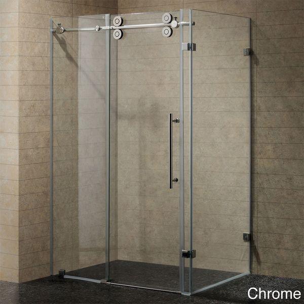 Master Suite Bathroom Vigo 60 Inch Frameless 0 375 Inch