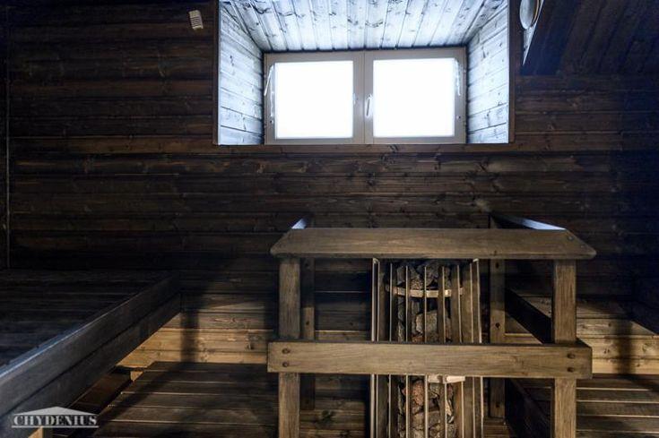 Tunnelmallinen sauna ja hankolainen kiuas