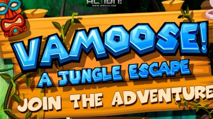 Vamoose! - A Jungle Running Escape
