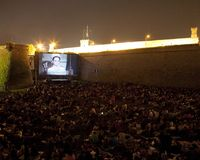 Outdoor cinema in Barcelona Summer turns Barcelona's cultural spaces, squares and parks into open-air cinemas