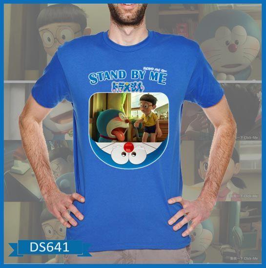 T-Shirt Doraemon & Nobita Stand by Me - Butik Pakaian