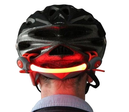 Cycle Helmet LED + FREE Armband LED Deal