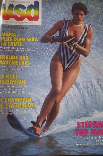 VSD N°392 Stephanie de Monaco