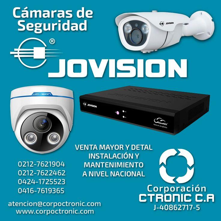 Todo en sistemas de seguridad CCTV para su tranquilidad y la de su familia  #jovision #seguridad #seguridadenvenezuela #corpoctronic