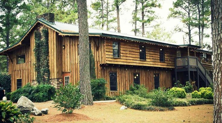 Cheniere Lake Lodge Rustic Idea For Wedding Reception