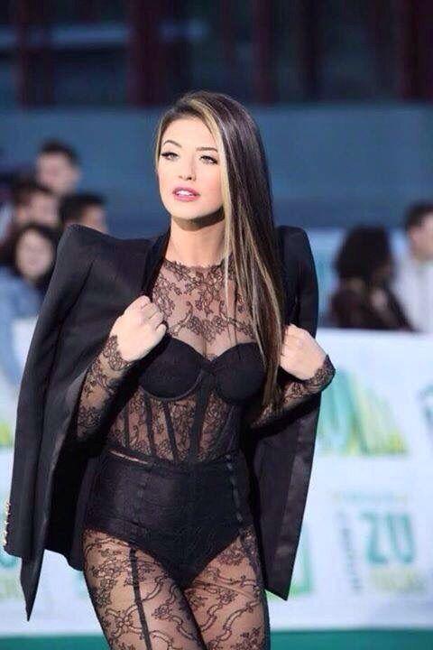 Beautiful Antonia wearing Cristina Savulescu