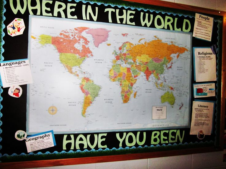 ra bulletin boards - Good for after spring break .......perfect way to jazz up my wall maps and bring more color in my classroom.