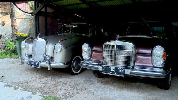 Koleksi Mercy Tua Rahardi Ramelan Land Cruiser Mercedes Mobil