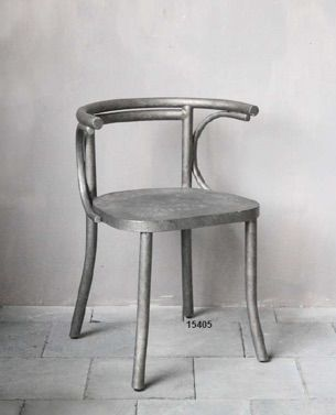 Sedia in metallo - iron chair http://www.griffegenova.com/Griffe_Home/Divani_pint_new.html