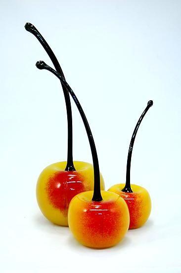 Glass cherries: