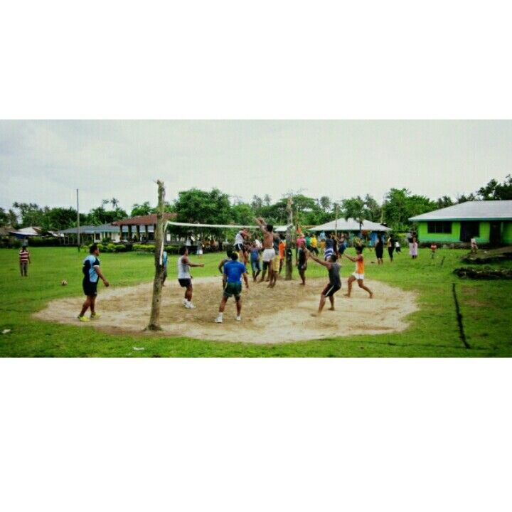 Samoan Volleyball - every village without fail will have a tournament even if the village is 10m down the road