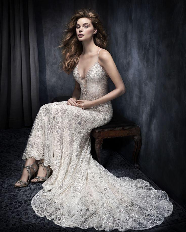 Best Hairstyle For V Neck Wedding Dress : 27 best kenneth winston images on pinterest