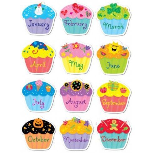 Birthday Cupcakes Stickers CTP4116