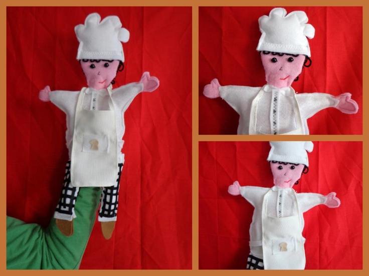 Meneer de bakker ~ handpop