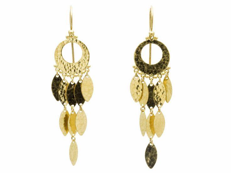 Gurhan 24k Mixed Flurries Dangle Earrings Lv3CtWlj