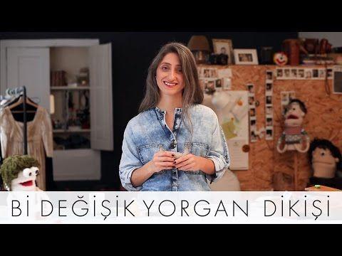 Bi Değişik Yorgan Dikişi   Bi Değişik Dikiş Okulu - YouTube