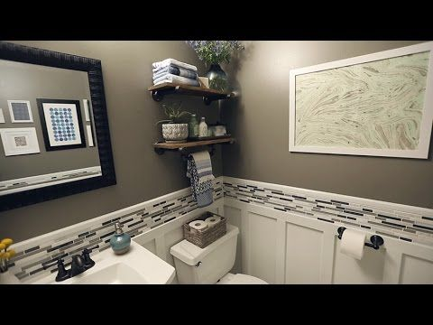 Renovation Rescue: Small Bathroom on a Budget - YouTube