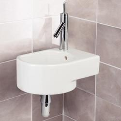 Wall Mounted Corner Basin Bathroom