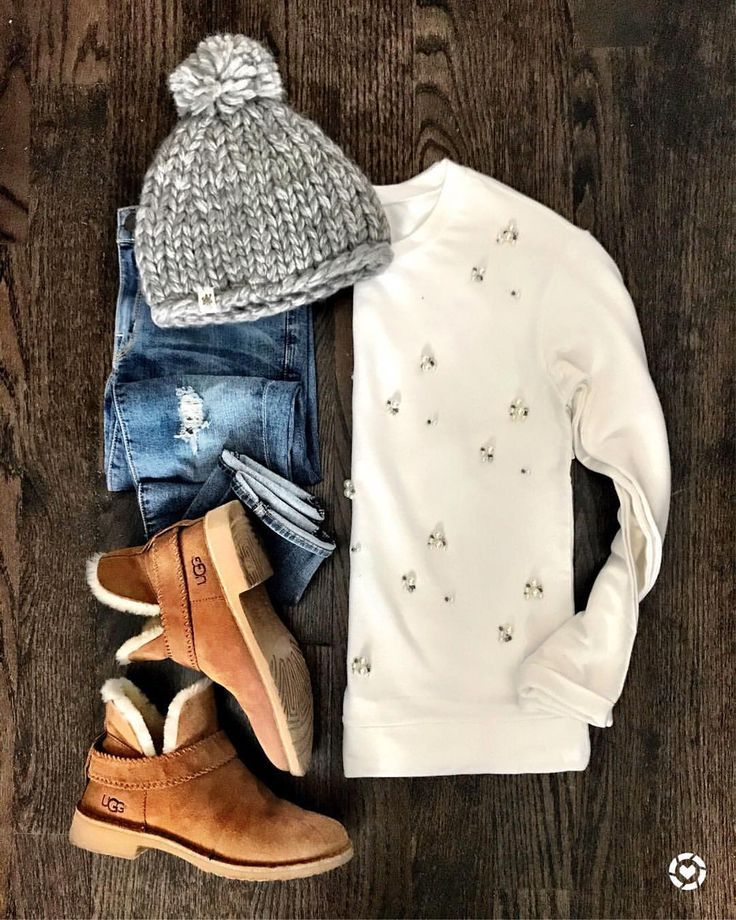 cute and cozy winter outfit