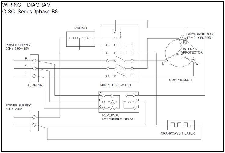 Semi Hermetic Compressor Wiring Diagram