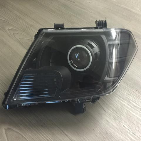 2005-2014 Nissan Frontier Retrofitted Headlights - American Retrofits