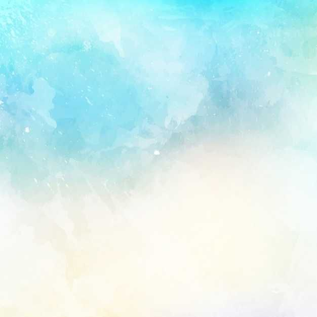 Abstract Background With A Watercolor Texture - FREE