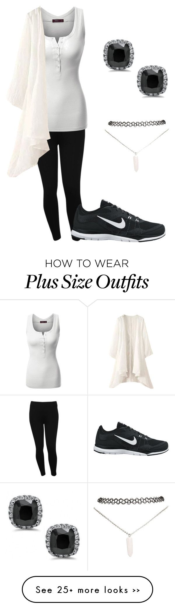 """""""Untitled #66"""" by dino-islamovic on Polyvore featuring M&Co, Doublju, NIKE and Wet Seal"""
