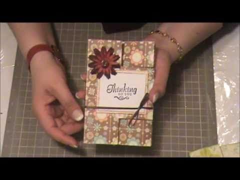 Tarjeta Persiana - Scrapbooking con Lily - YouTube