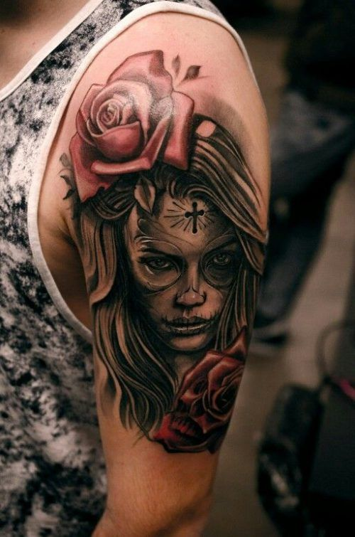 Tatuajes De Catrinas Disenos Imagenes Y Signinicado Tatuajes De Calaveras Mexicanas Tatuajes Pierna Tatuajes De Plumas