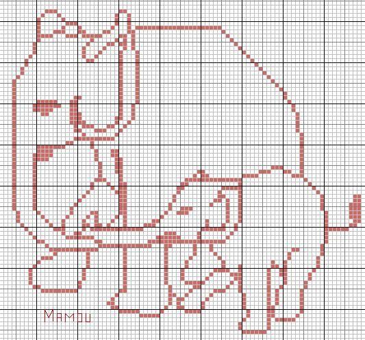 Animaux Animals 233 L 233 Phant Point De Croix Cross