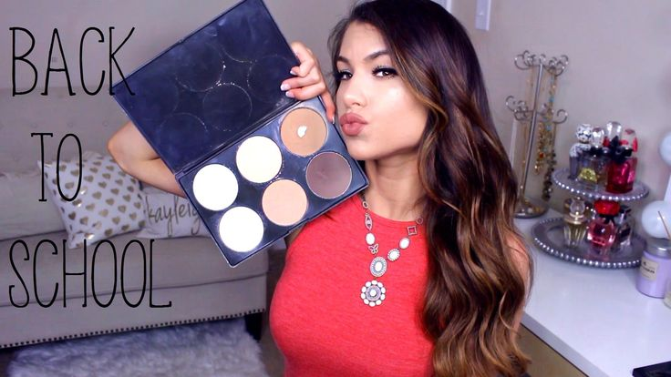 cool Top 10 BACK TO SCHOOL Makeup Essentials! (DRUGSTORE) Collab w/ Madison Miller