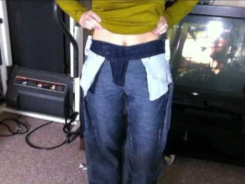 re-doing thrift store jeans.. Emerson made style.  You go girl!  Thanks!