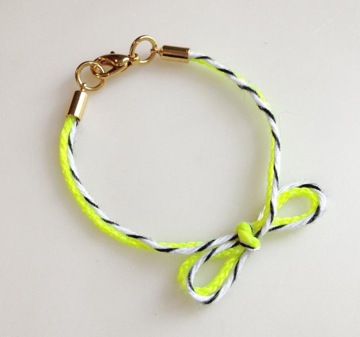 Bakers Twine Bracelet, so cute!