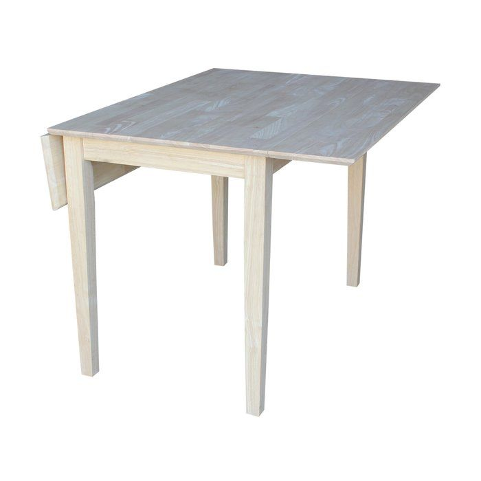 Wembley Extendable Solid Wood Dining Table Dining Table Square