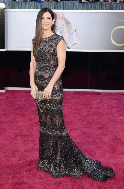 Academy Awards - Sandra Bullock in Elie Saab